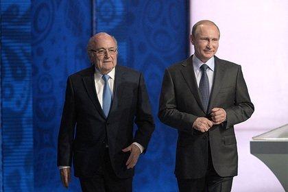 В Кремле прокомментировали тайную встречу Путина и Блаттера