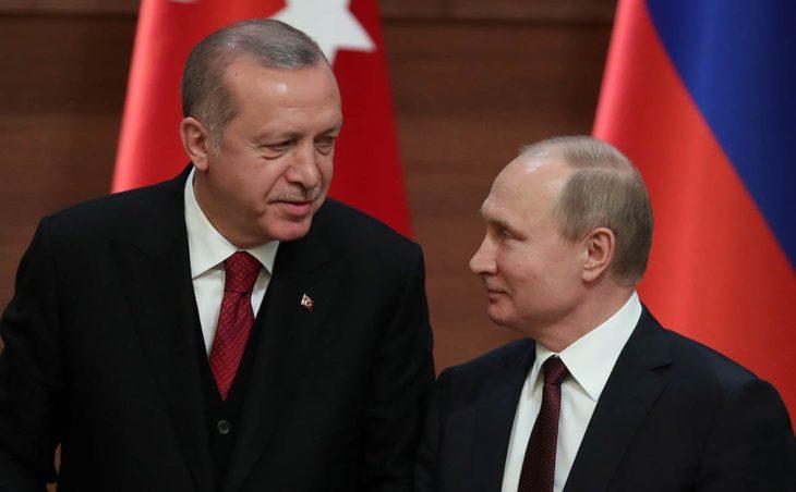 Эрдоган предложил Путину начать совместное производство С-500