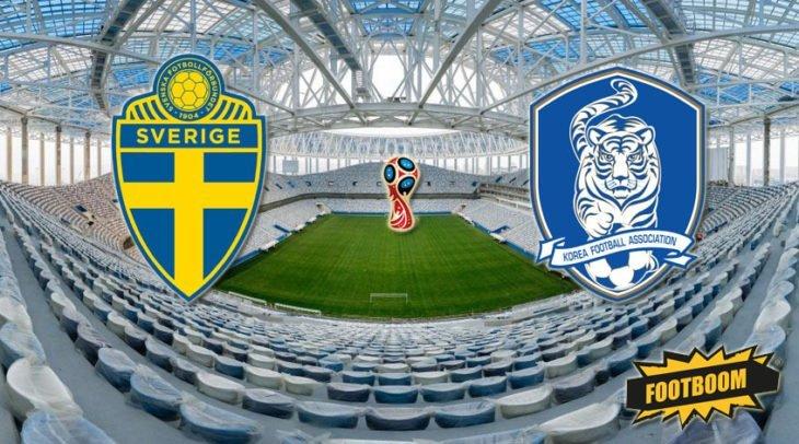 Футбол. Швеция — Южная Корея. Счет, обзор матча от 18.06.2018, видео голов, результаты.