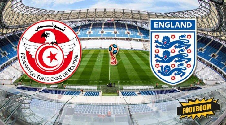Футбол. Тунис – Англия. Счет, обзор матча от 18.06.2018, видео голов, результаты