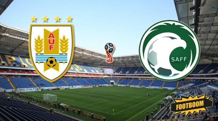 Футбол. Уругвай — Саудовская Аравия. Счет, обзор матча от 20.06.2018, видео голов, результаты.
