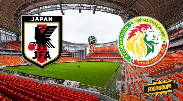 Футбол. Япония – Сенегал. Счет, обзор матча от 24.06.2018, видео голов, результаты.