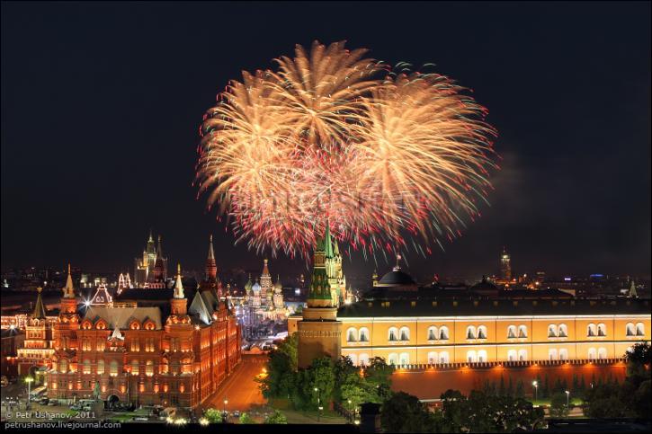 Салют 12 июня 2018 в Москве в День России: где состоится, время проведения, смотреть видео онлайн