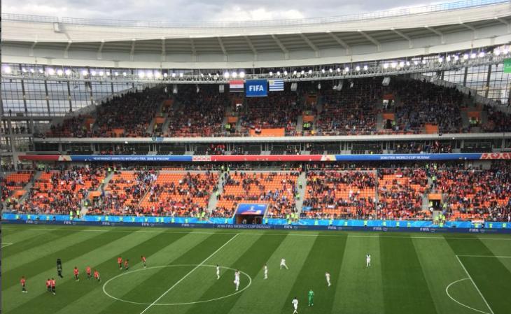 Оргкомитет ЧМ-2018 разберётся, почему зрители не пришли на матч в Екатеринбурге