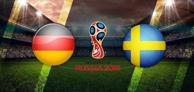 Футбол. Германия – Швеция. Видео трансляция 23 июня 2018 где смотреть онлайн матч. Подробности, состав команды, прогноз , ставки букмекеров.