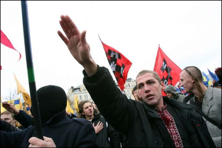 Украинские националисты «присвоили» российские и польские земли