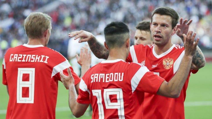 Футбол: Россия — Саудовская Аравия: счет, обзор матча от 14.06.2018, видео голов, результаты
