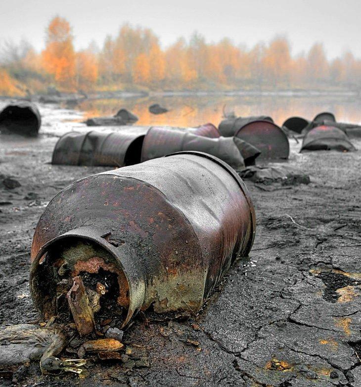 На Донбассе разрушилась дамба с химическими отходами