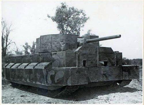 Бетонная и пластиковая броня Т-34