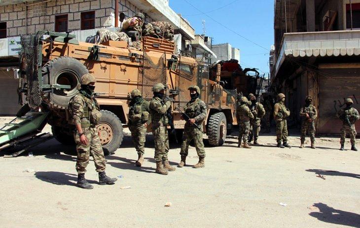 США «сливают» Сирию – турецкие войска заняли Манбидж