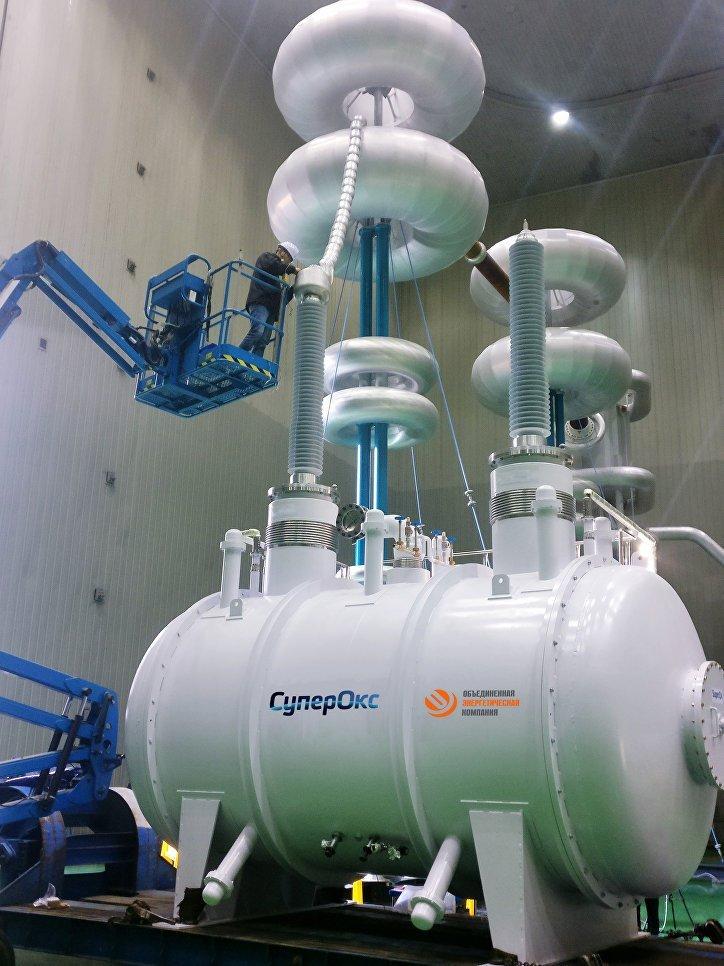 Первый российский сверхпроводниковый ограничитель тока