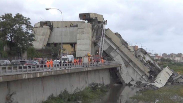 Молния вызвала обрушение моста в Генуа: десятки человек погибших — последние новости, фото и видео