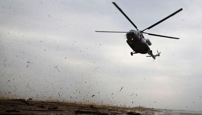 В Красноярском крае упал вертолет Ми-8 — последние новости расследования, фото и видео с места события