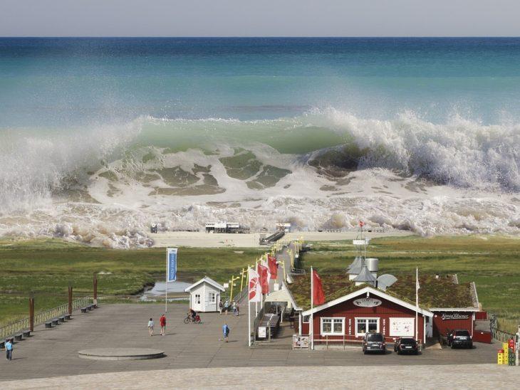 Волна Дропнера (Draupner Wave) волна убийца