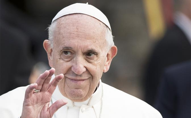 Папа Римский «купил» Донбасс