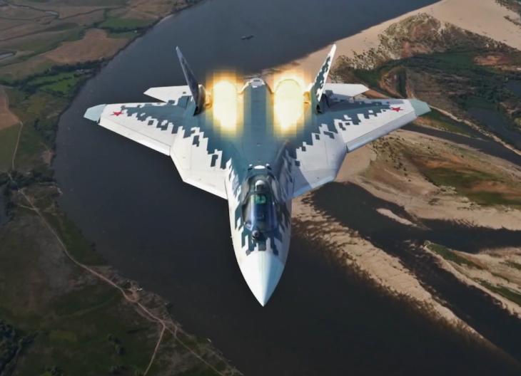Зачем Су-57 «пиксельный» камуфляж и его особенности