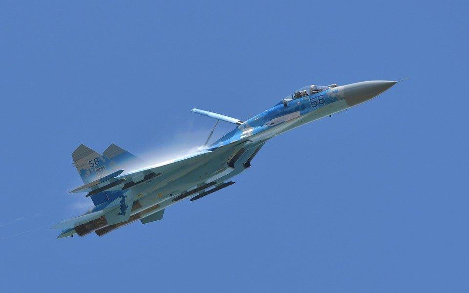 су-27, истребитель, pixabay