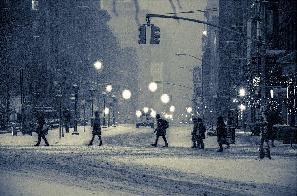 Когда придет зима в центральную часть России