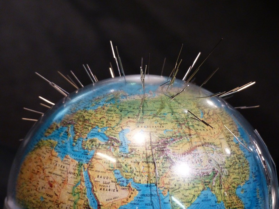 Глобус, магнетизм. Фото Pixabay