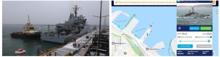 Корабль - фото из открытых источников