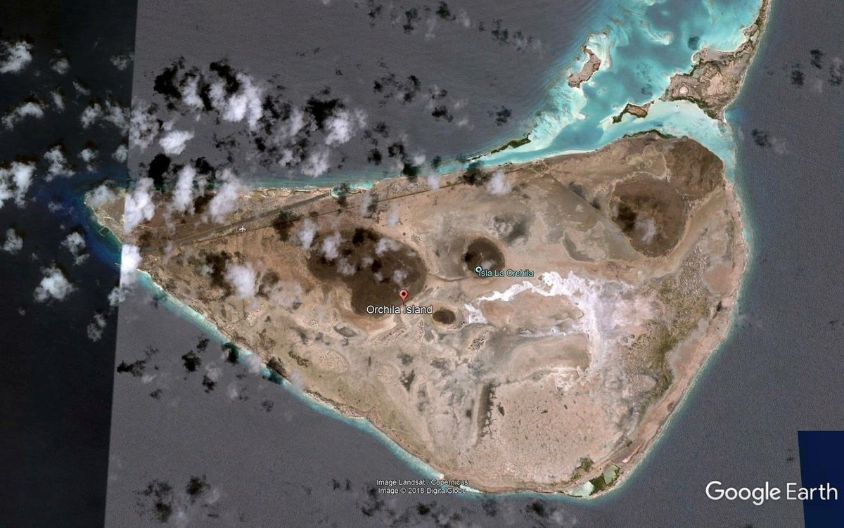 Остров Ла Орчила (La Orchila) - фото из открытых источников