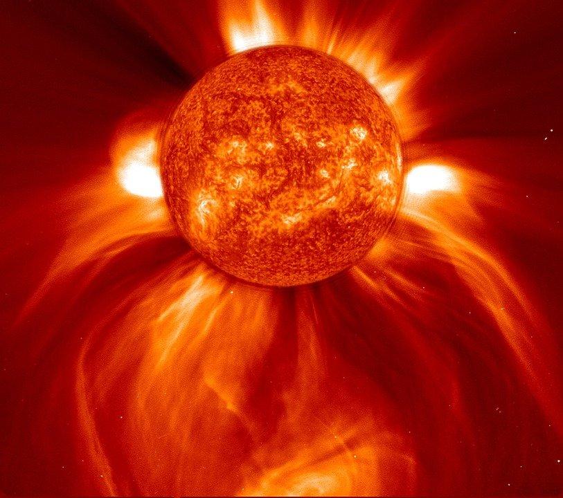 Солнечная активность. Фото Pixabay