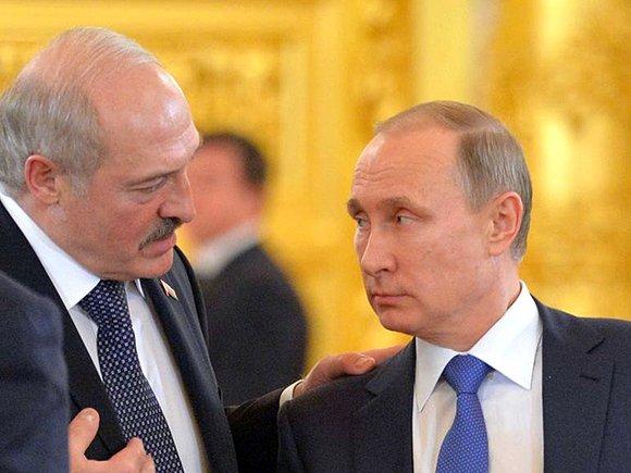 Владимир Путин и Александр Лукашенко © Фото с сайта kremlin.ru