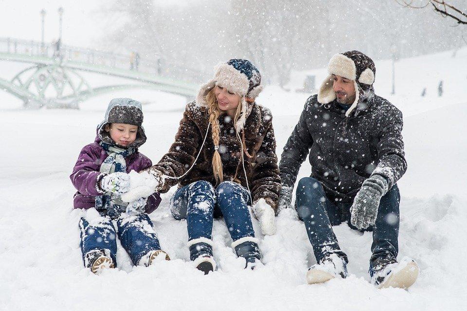 Зима, новый год, Москва - Фото Pixabay