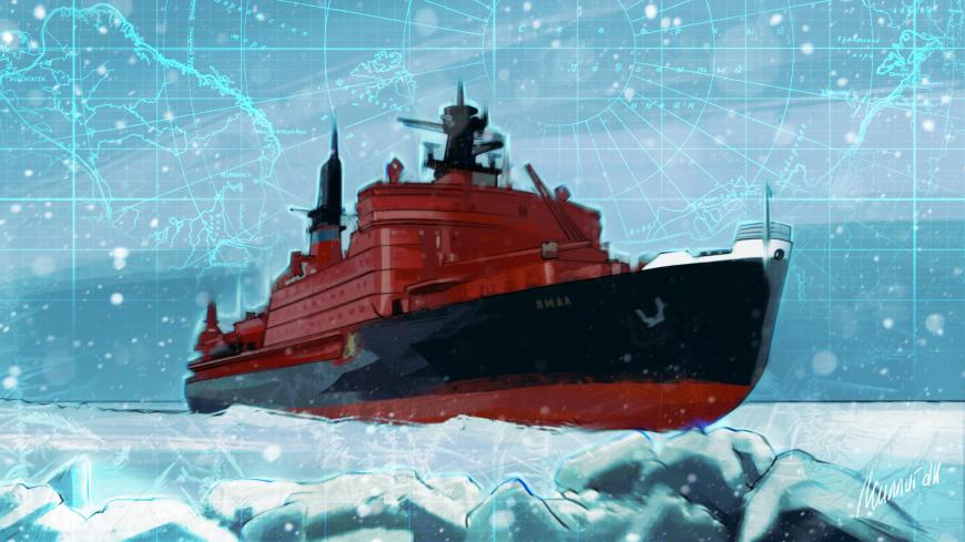 Кто был на Северном полюсе раньше — подлодка или ледокол?