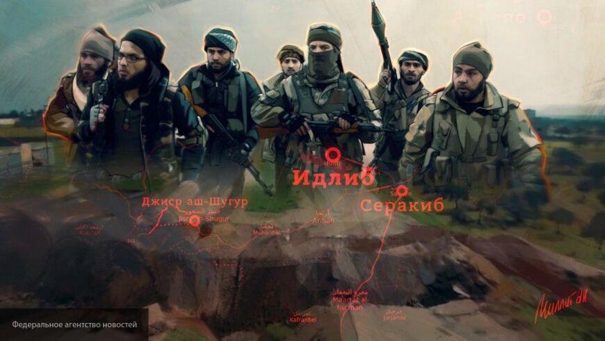 Протурецкие боевики зарабатывают на разграблении энергетической инфраструктуры Идлиба