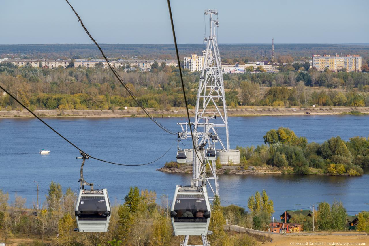 Канатная дорога в Нижнем Новгороде, как общественный транспорт
