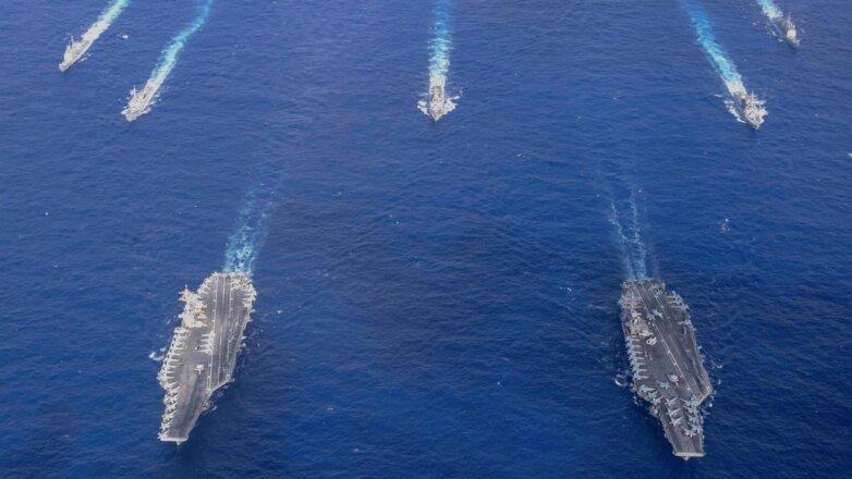 ВМС США сократят число атомных авианосцев