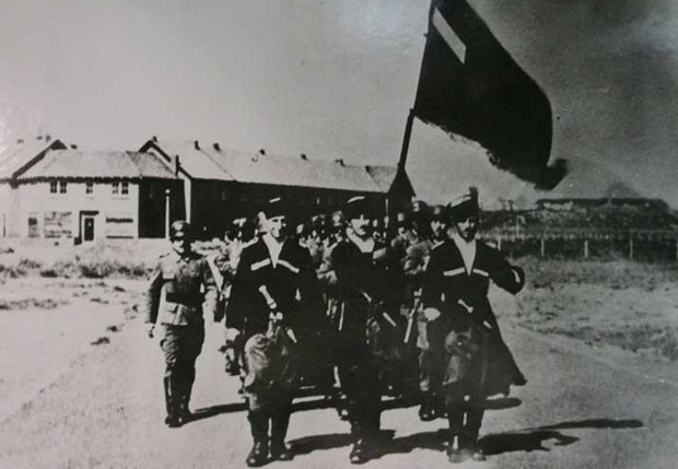 Последний бой грузинского легиона вермахта «Konigin Tamara»