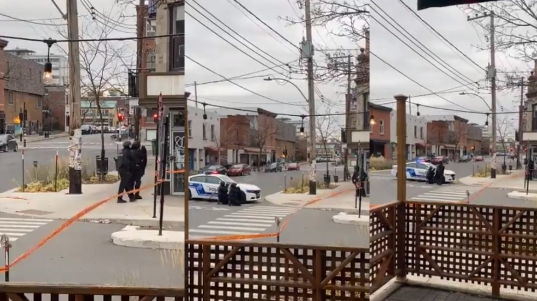 Преступники взяли в заложники десятки людей в Монреале