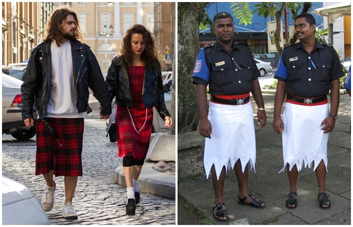6 стран, в которых мужчины носят юбки